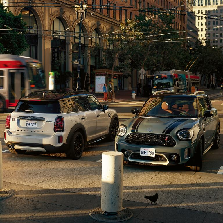 Nuevo MINI COUNTRYMAN – MINI COOPER SE COUNTRYMAN ALL4 – vista delantera