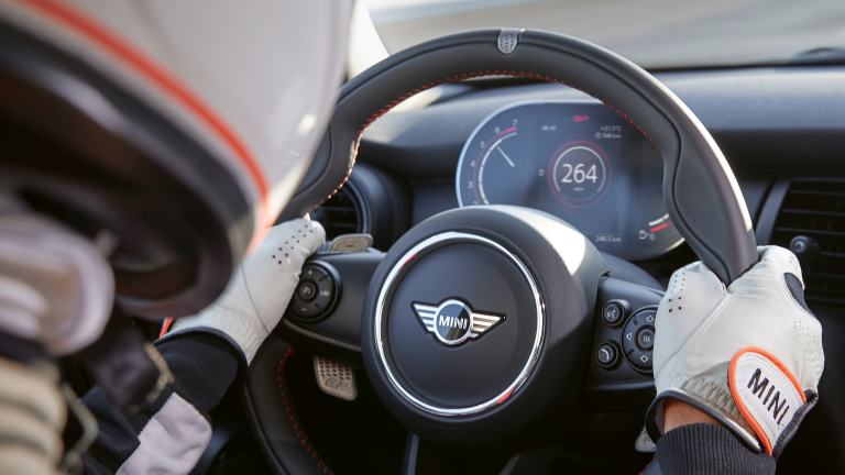 MINI John Cooper Works GP – volante – cuero walknappa